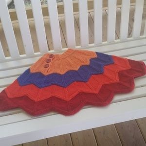 The children's place knit ponchi